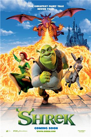 Шрек / Shrek (2001) Blu-Ray + BDRip + DVD9 + DVD5 + HDTV + DVDRip