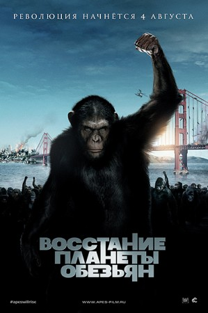 Восстание планеты обезьян / Rise of the Planet of the Apes (2011) HDRip 1400/700 Mb