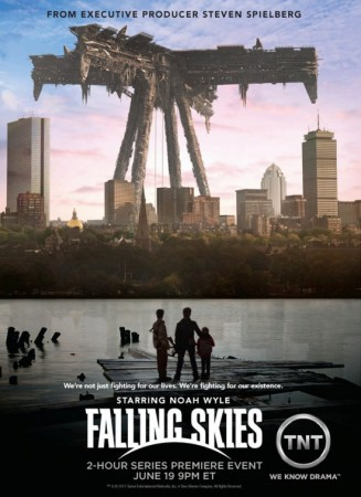 Рухнувшие небеса / Falling Skies (1 сезон/2011) WEB-DLRip