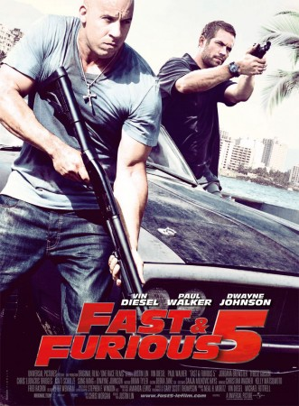 Форсаж 5 / Fast Five (2011) BDRip 720p + BDRip 1400/700 Mb