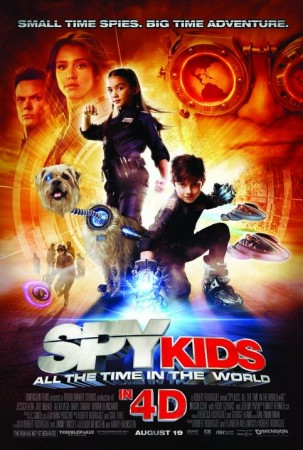 Дети шпионов 4D / Spy Kids: All the Time in the World in 4D (2011) HDRip